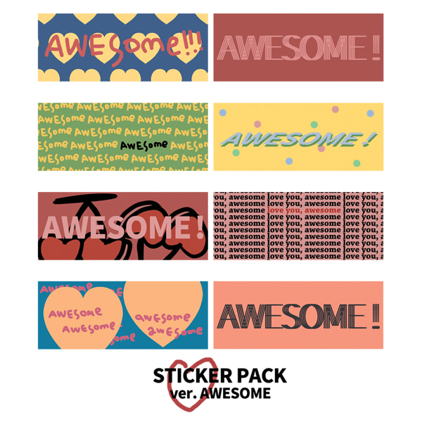 STICKER PACK .ver AWESOME