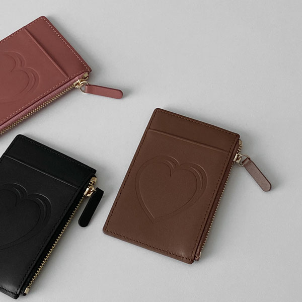 love leather card wallet