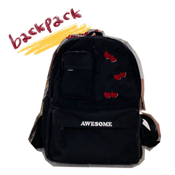 cherry backpack