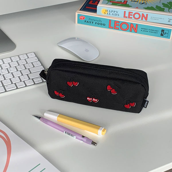 cherry pencil case